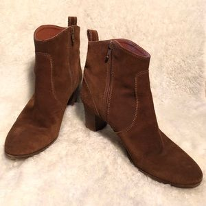 J Crew Aggie Suede Ankle Boot Size 11